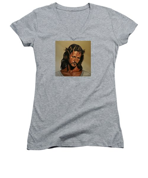 Jesus Christ Superstar Women's V-Neck