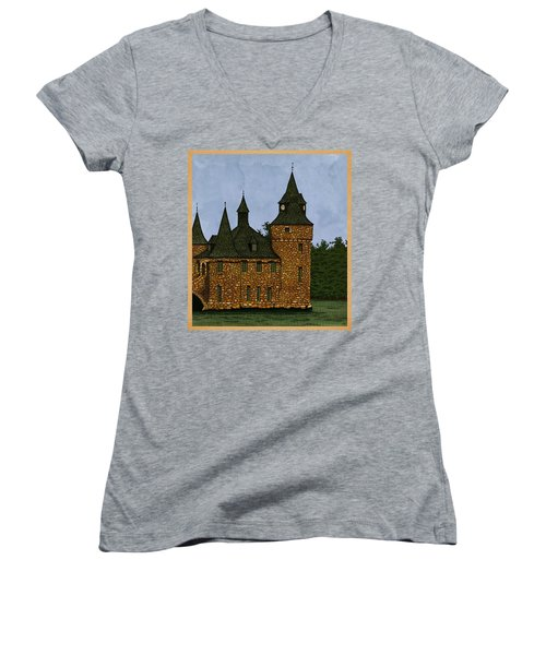 Jethro's Castle Women's V-Neck T-Shirt