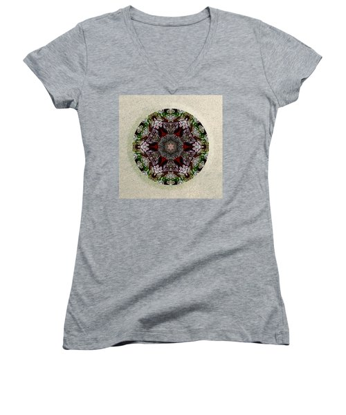 Jewels Of The Sea  Women's V-Neck T-Shirt