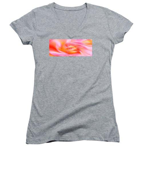 Joy - Rose Women's V-Neck