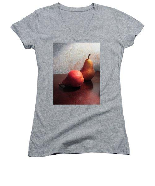 Juicy Still Life Women's V-Neck T-Shirt