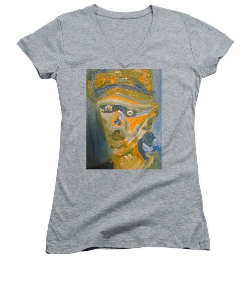 Just Another Face Women's V-Neck