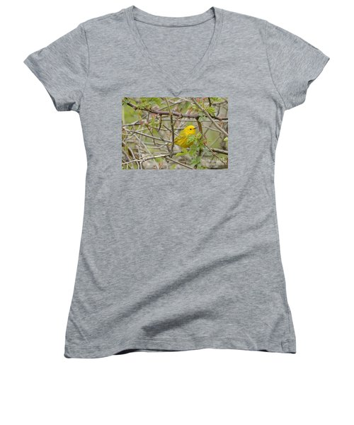 Just Brightening Your Day Women's V-Neck