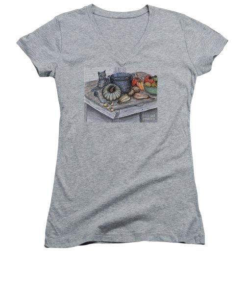 Just Curious Women's V-Neck (Athletic Fit)