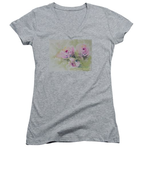 Just For You. #12 Women's V-Neck (Athletic Fit)