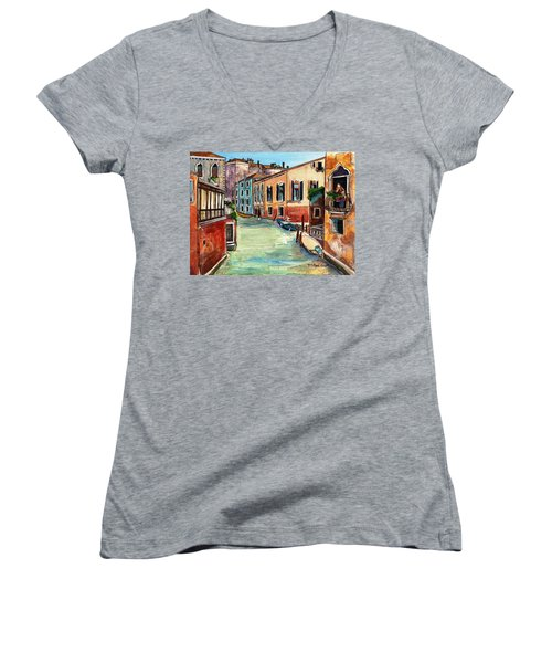 Just In The Neighborhood Women's V-Neck