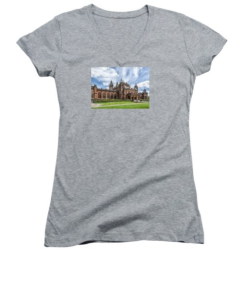 Kelvingrove Art Gallery And Museum Women's V-Neck T-Shirt