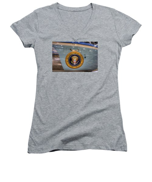 Kennedy Air Force One Women's V-Neck