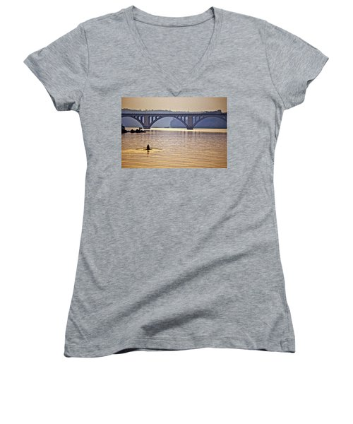 Key Bridge Rower Women's V-Neck
