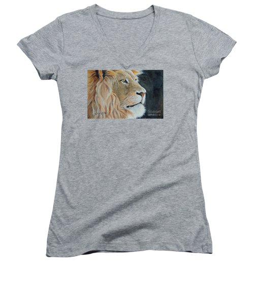 King Of The Forest.  Sold Women's V-Neck