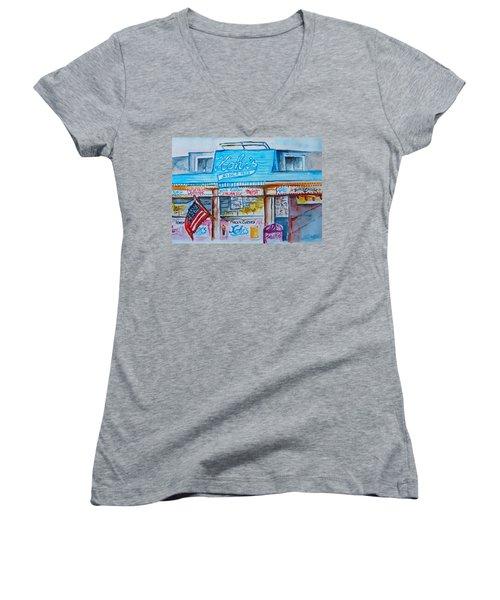 Kohrs Frozen Custard Women's V-Neck T-Shirt