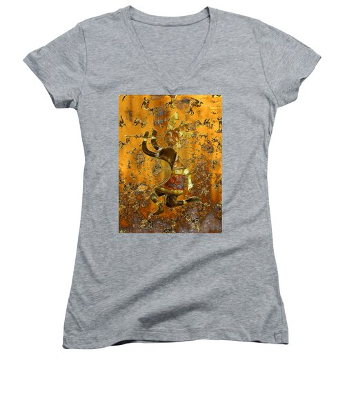 Kokopelli Women's V-Neck