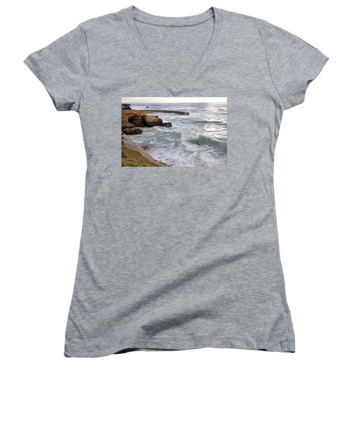 La Jolla Ca Women's V-Neck