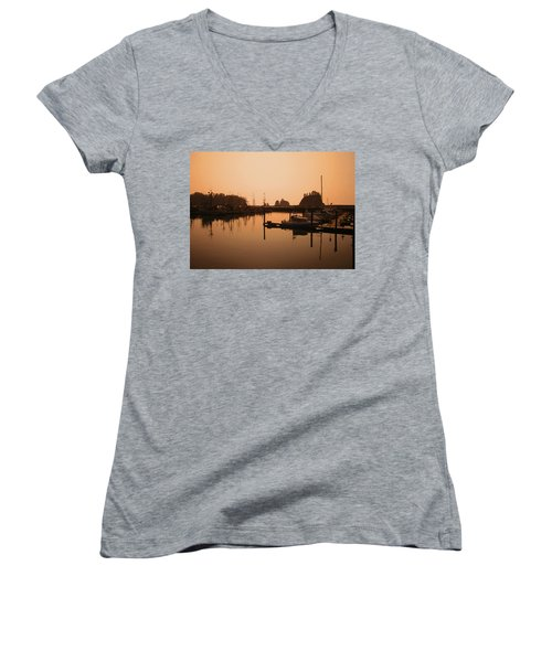 La Push In The Afternoon Women's V-Neck T-Shirt (Junior Cut) by Kym Backland