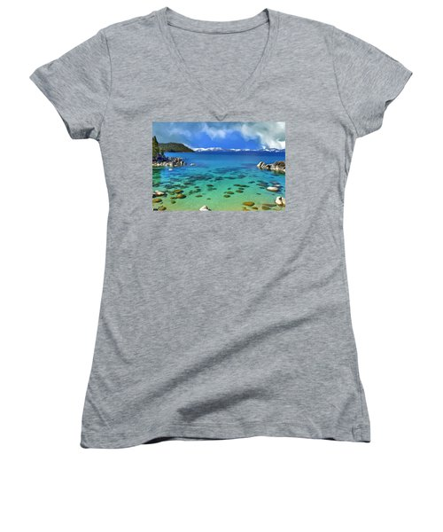 Lake Tahoe Cove Women's V-Neck