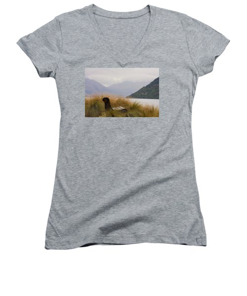Lake Wakatipu Bench Women's V-Neck