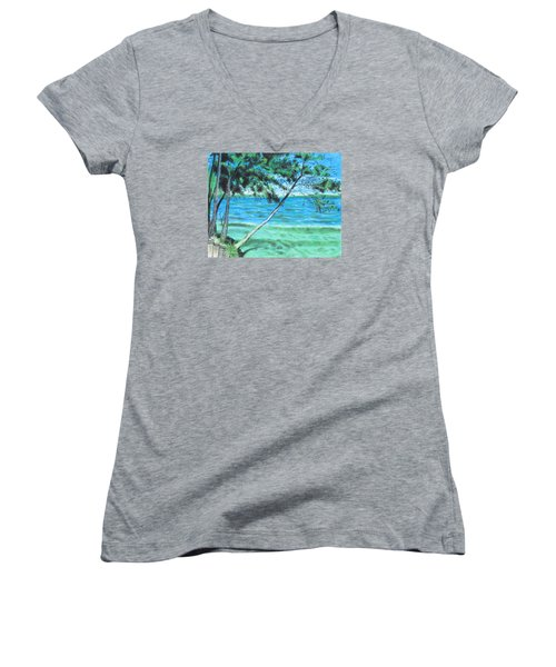 Lakeland 3 Women's V-Neck T-Shirt