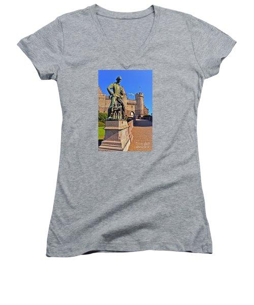 Lange Wapper Women's V-Neck T-Shirt