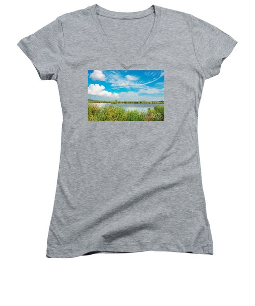 Lauwersmeer National Park. Women's V-Neck