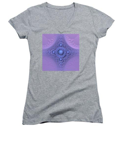 Lavender Beauty Women's V-Neck T-Shirt