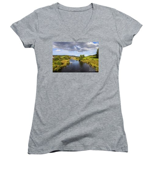 Lazy River Women's V-Neck T-Shirt