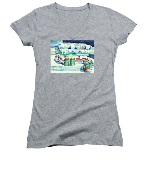 Lena's Legacy Women's V-Neck T-Shirt