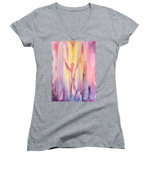 Let It Flow Women's V-Neck