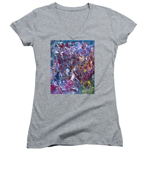 A Thousand And One Paintings Women's V-Neck T-Shirt