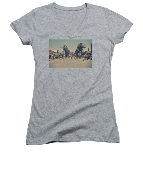Life In A Beach Town Women's V-Neck
