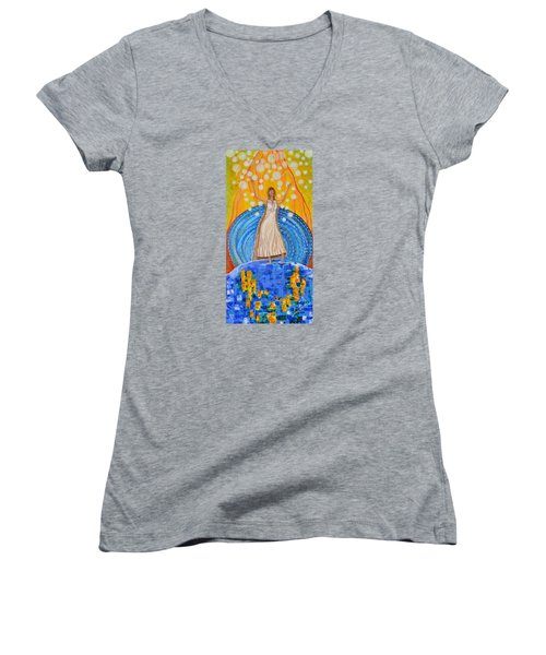 Lifting The Veil Women's V-Neck T-Shirt