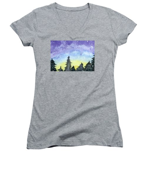 Lights Of Life Women's V-Neck T-Shirt