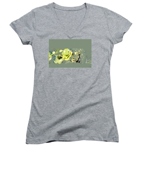 Lily Pads - Deconstructed Women's V-Neck