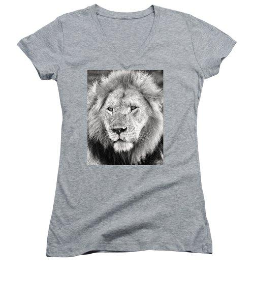 Lion King Women's V-Neck