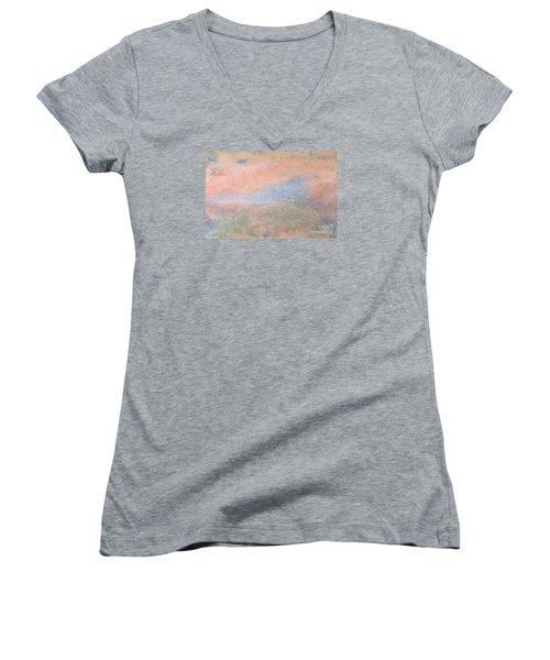 Women's V-Neck T-Shirt (Junior Cut) featuring the photograph Living Dream by Susan  Dimitrakopoulos