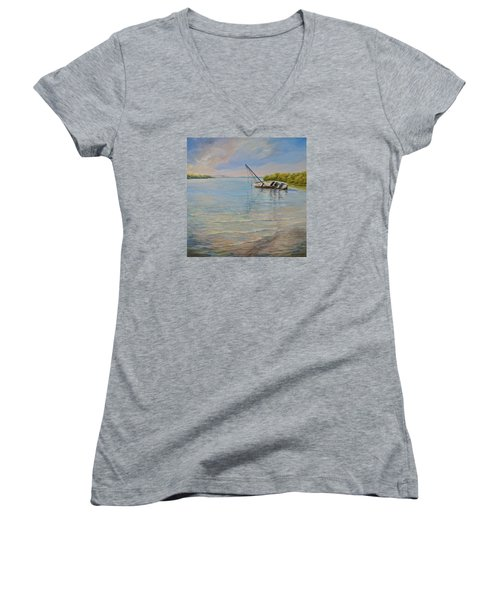 Locked Women's V-Neck