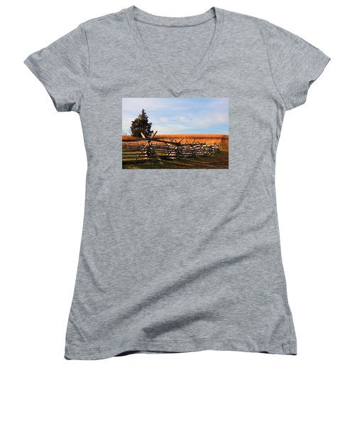 Long Shadows Women's V-Neck T-Shirt