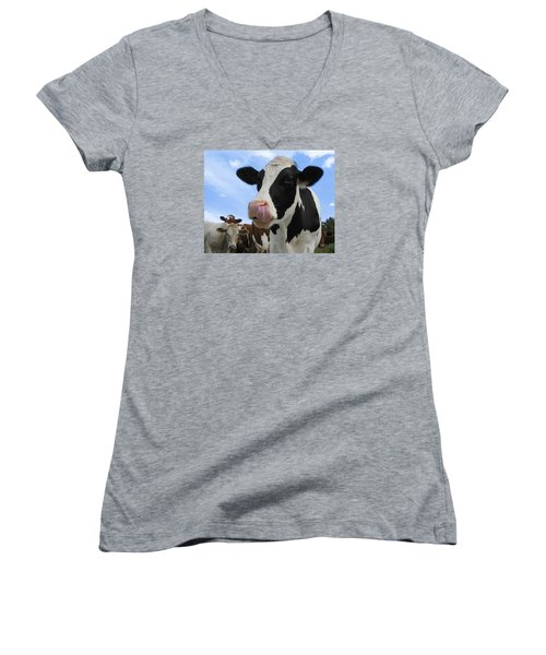 Look What I Can Do Women's V-Neck T-Shirt