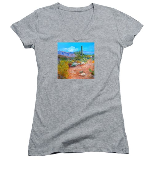 Lot For Sale 2 Women's V-Neck T-Shirt (Junior Cut) by M Diane Bonaparte