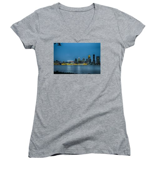 Louisville Ky 2012 Women's V-Neck (Athletic Fit)