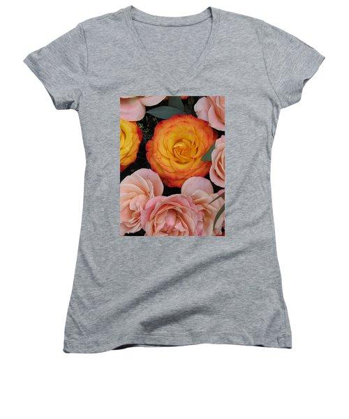 Love Bouquet Women's V-Neck