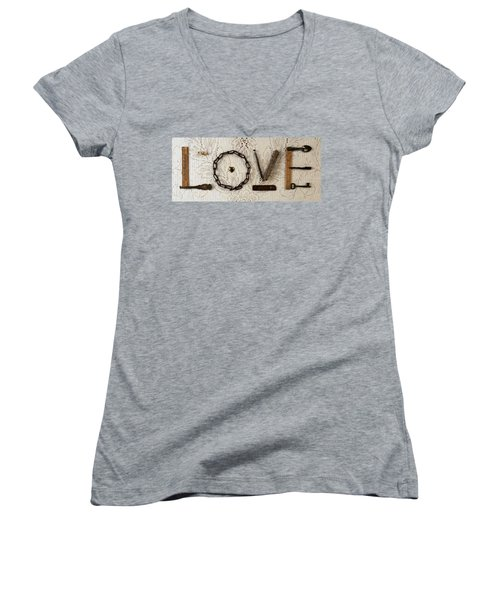 Love Women's V-Neck (Athletic Fit)