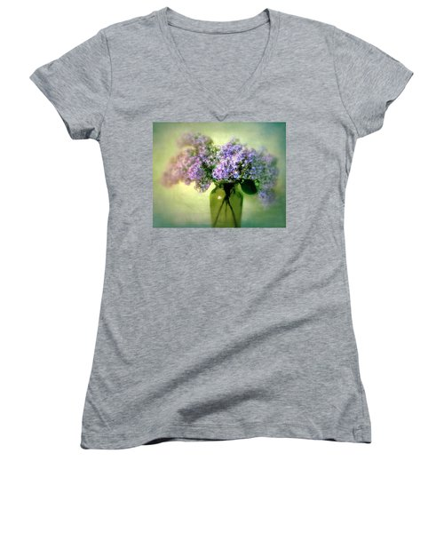Lovely Lilac  Women's V-Neck