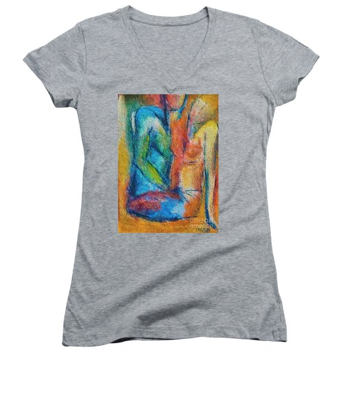 Lovers Women's V-Neck (Athletic Fit)
