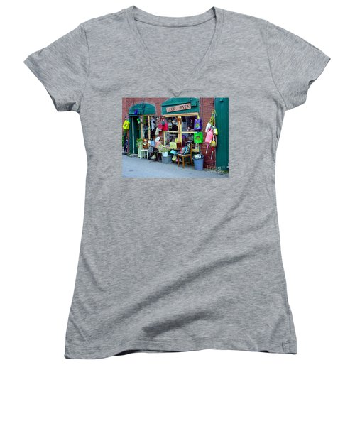 Lucky Seven Women's V-Neck T-Shirt