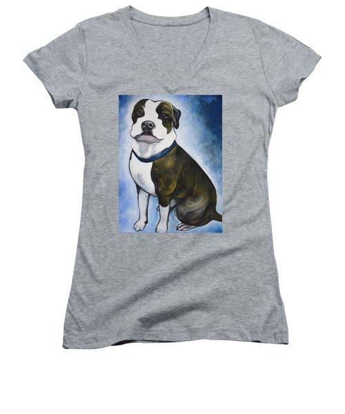 Lugnut Women's V-Neck T-Shirt