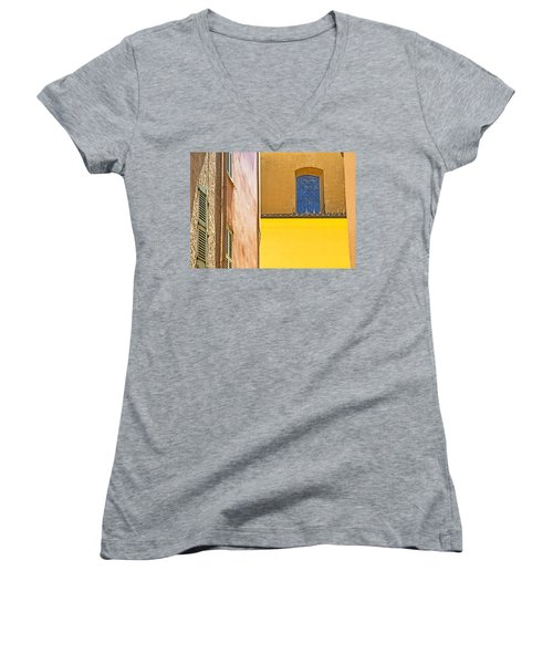 Women's V-Neck T-Shirt (Junior Cut) featuring the photograph Luminance by Keith Armstrong