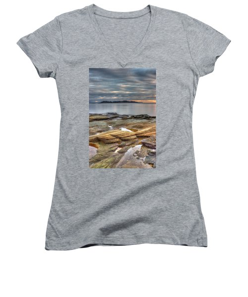 Madrona Sunrise Women's V-Neck