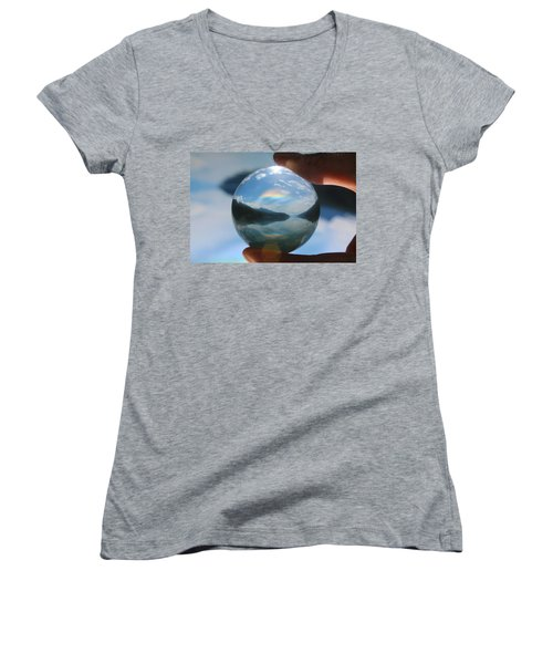 Magic In The Air Women's V-Neck T-Shirt