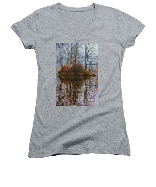 Magic Reflection Women's V-Neck T-Shirt