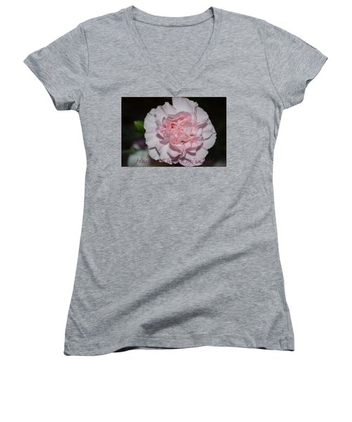 Magnetic Pink Women's V-Neck T-Shirt
